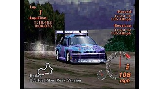 Gran Turismo 2. It's not just for pavement anymore. Taking a modified car out for a rally race.