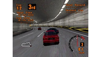Over the river and through some tunnels... Gran Turismo tracks cover a number of different sceneries.