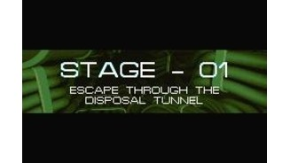 Stage one title screen