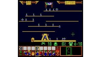 (Cheat) 3 lemmings blocking instead of 5