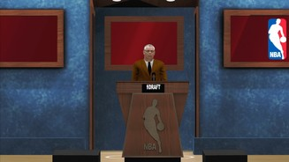 <b>NBA 2K13</b><br>NBA-Commissioner David Stern für durch den Draft.