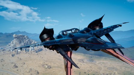 Final Fantasy 15 - Trailer zum Flugauto Regalia Type-F