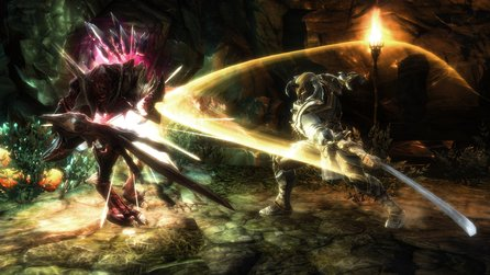 Kingdoms of Amalur: Reckoning im Test - Fable Age: Darksiders