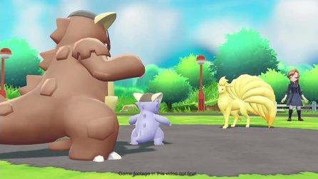 Pokémon Lets Go Pikachu Videos Trailer Previews Und
