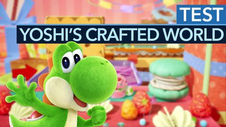 Yoshi's Crafted World - Test-Video: Ein liebevoll gebasteltes Jump&Run