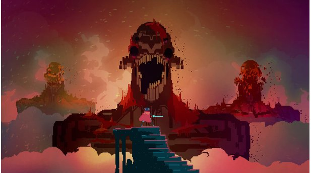 <b>Hyper Light Drifter</b><br> Episch! So muss Pixel-Optik inszeniert sein. Was Hyper Light Drifter mit bescheidener Grafik auf den Schirm zaubert, sucht teilweise seinesgleichen.