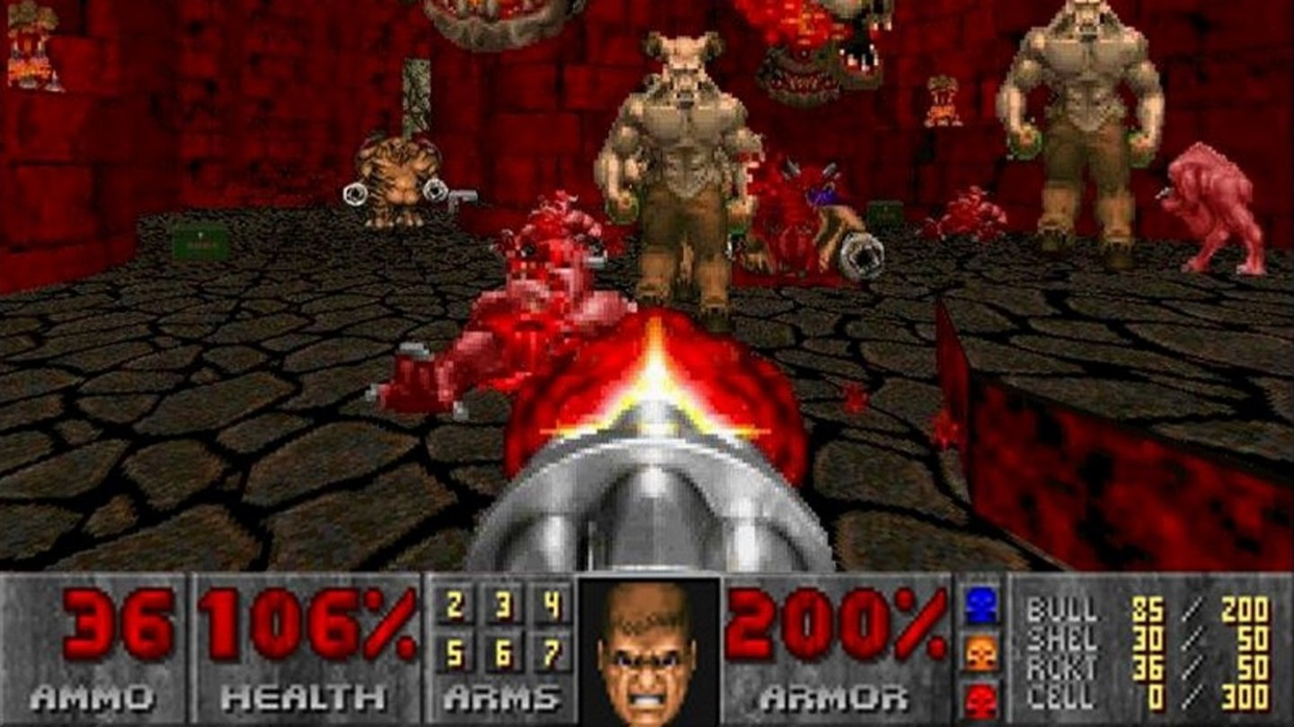 1993: DoomId Tech 1 (Doom Engine)