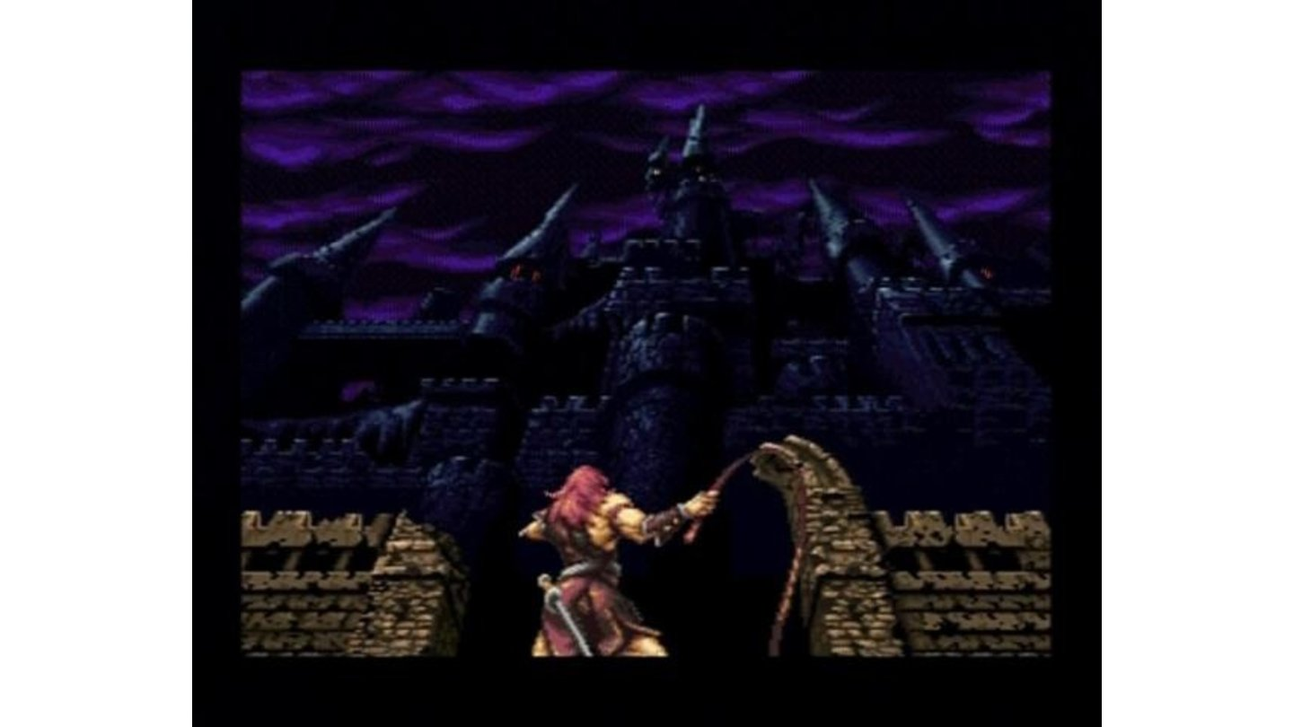 (Arrange Mode) The main character prepping to enter the infamous castle of evil.