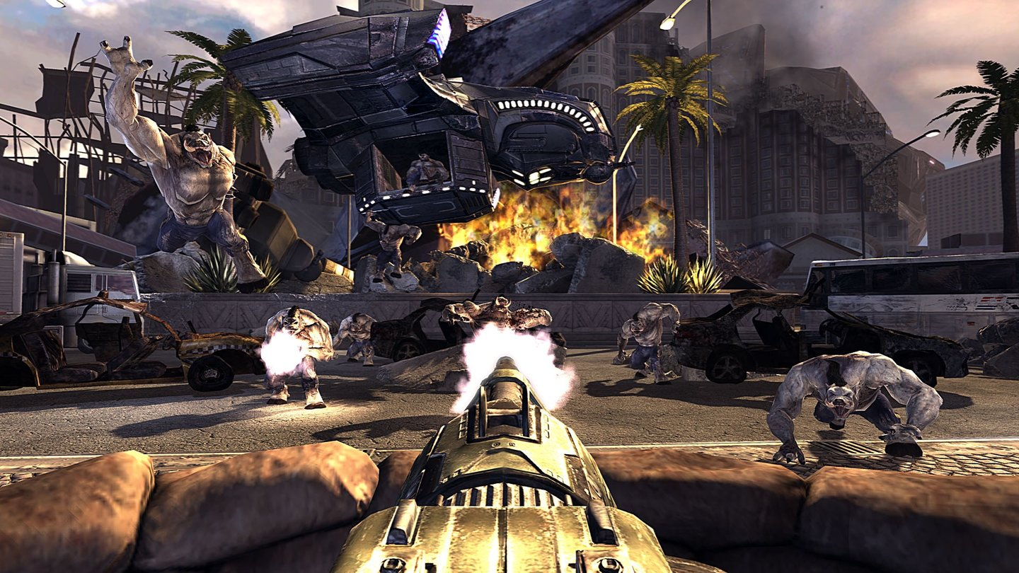 Duke Nukem Forever - Screenshots vom Las Vegas-Event