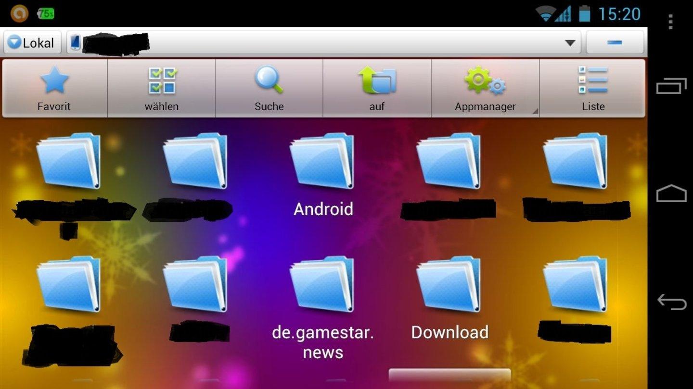 Datei Explorer Android