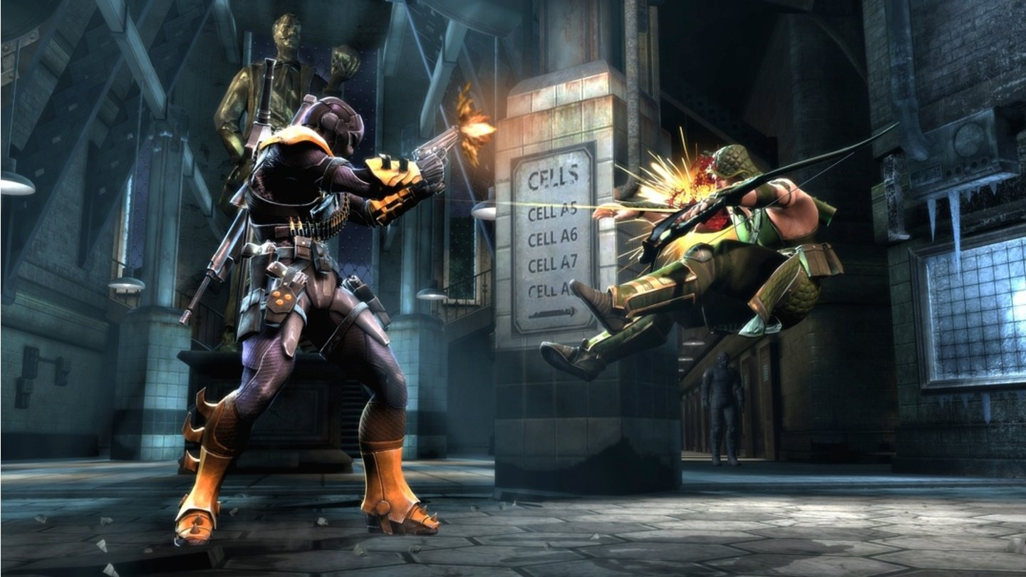 Injustice: Gods Among Us - Dead Stroke-Screenshots