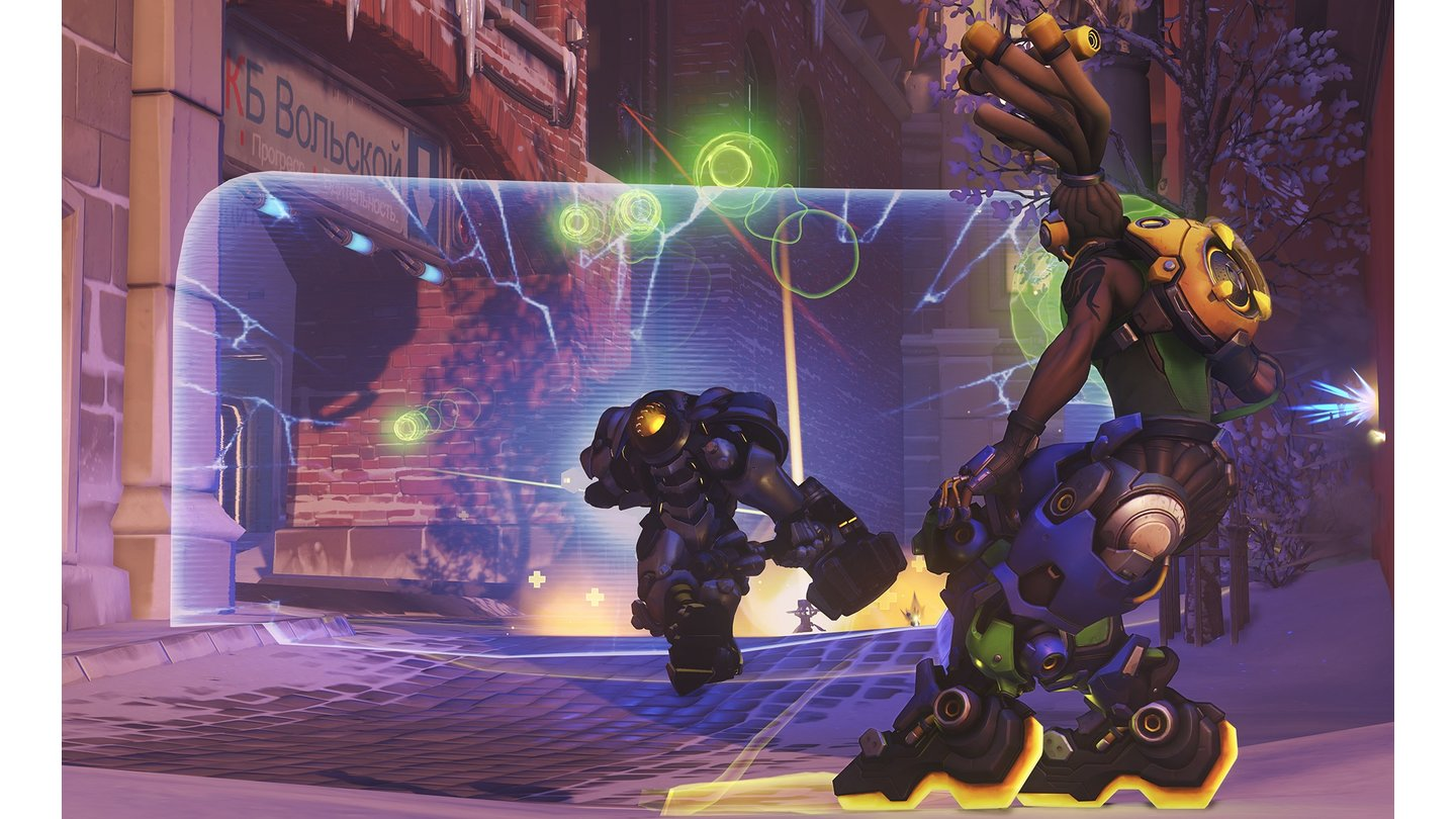 Overwatch - Screenshots zum Helden Lucio
