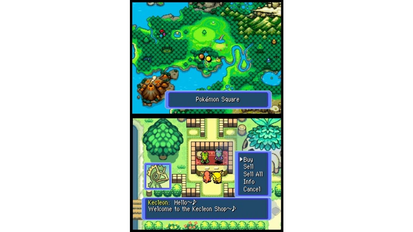 Pokémon Mystery Dungeon Team Blau DS 2