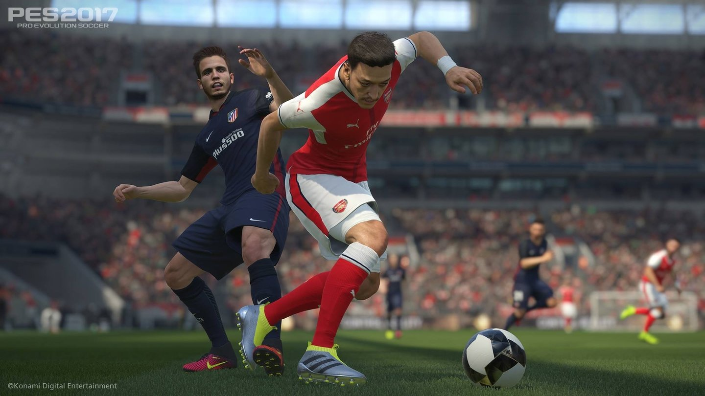 Pro Evolution Soccer 2017 - E3-Screenshots