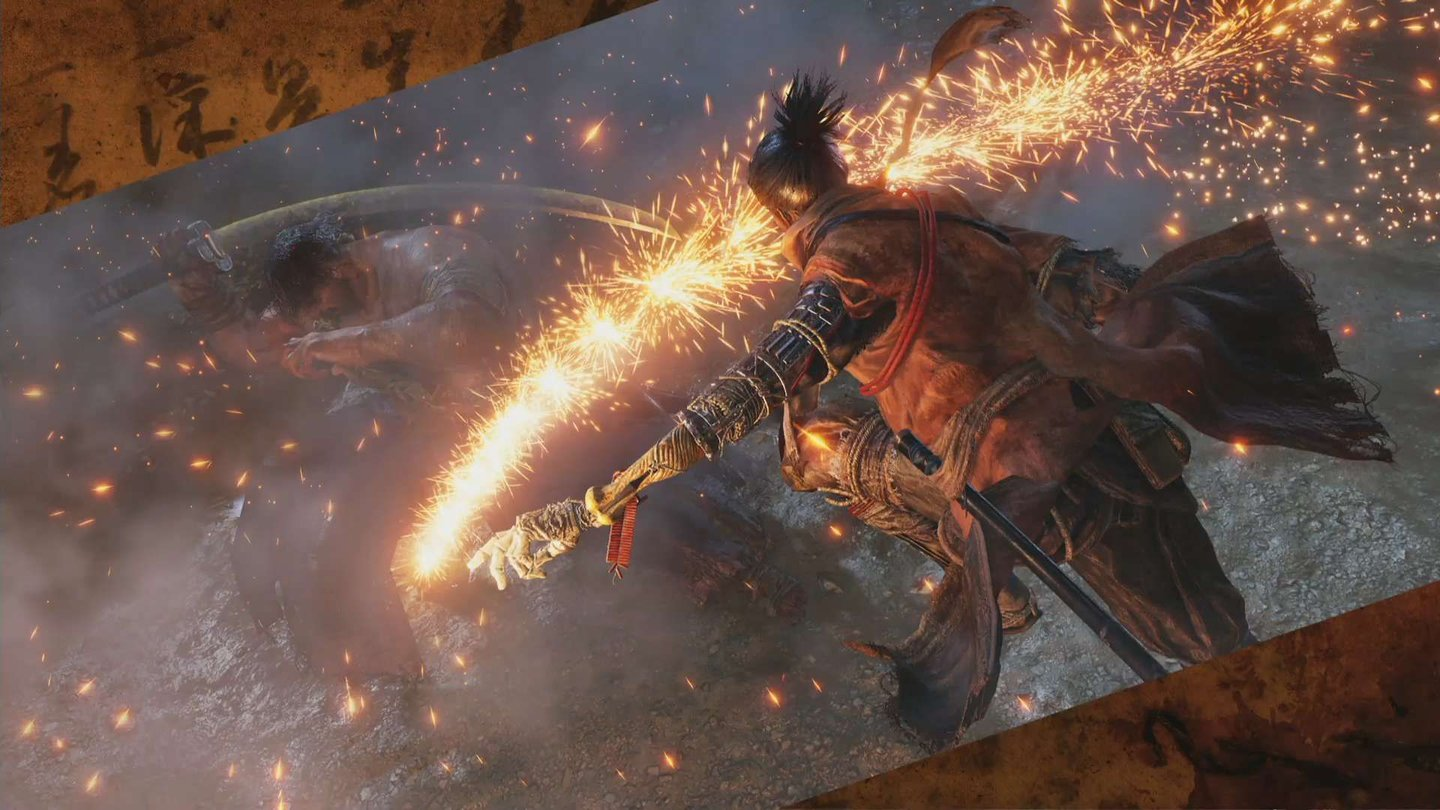 Sekiro: Shadows Die Twice Screenshots aus dem Stream