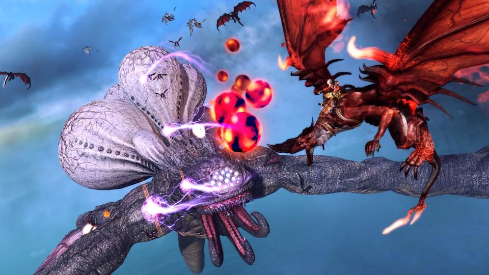 crimson dragon  drachenactionspiel erscheint für xbox