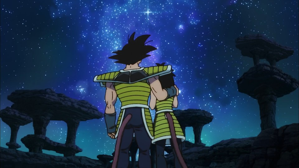 Son Gokus Eltern in Dragon Ball Super: Broly.