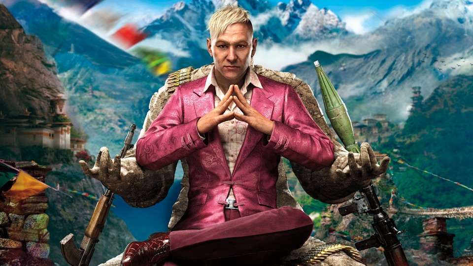 Pagan Min aus Far Cry 4.