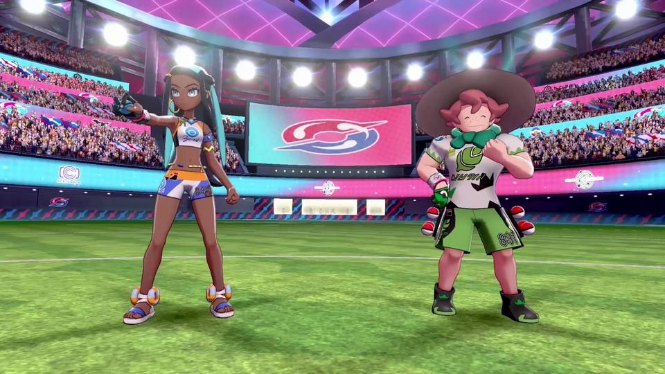 Kate und Yarro schaffen durch den Pokémon-Typ eine Synergie.
