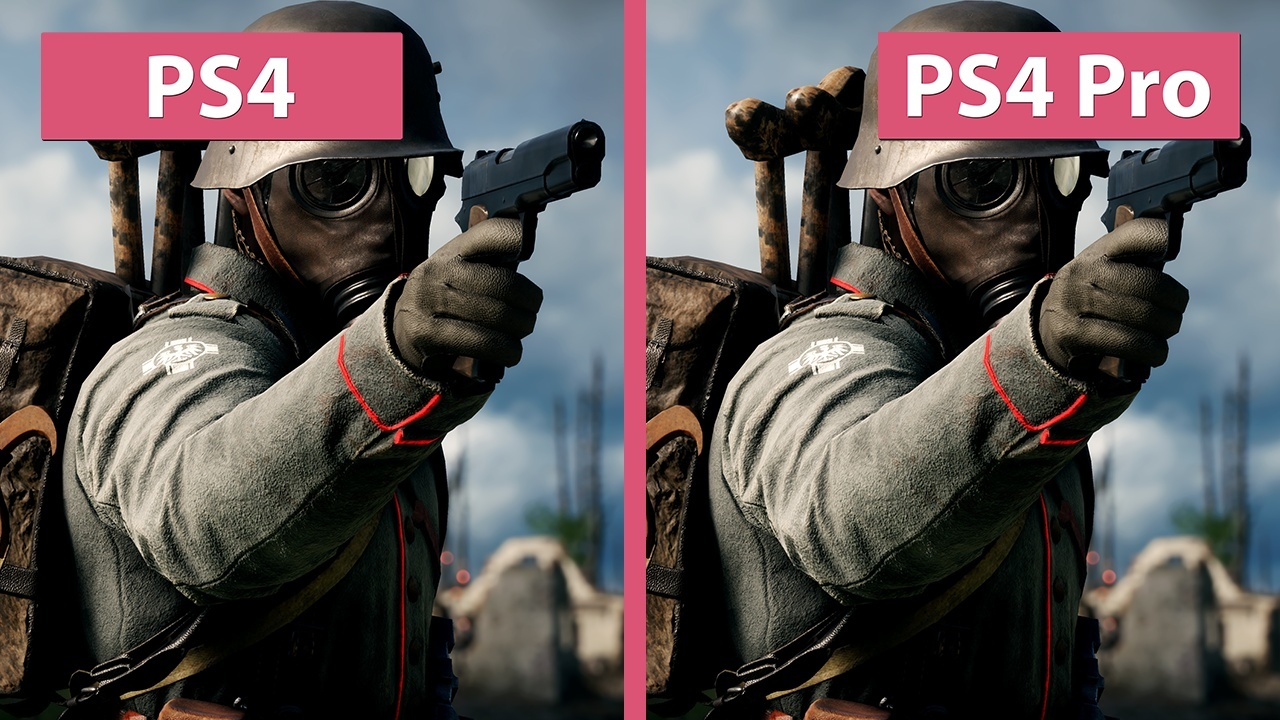 Battlefield 1 Ps4 Und Ps4 Pro Im Vergleichs Video