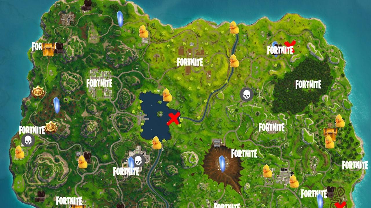 Fortnite Interaktive Fan Map Zeigt Alle Battle Pass Herausforderungen