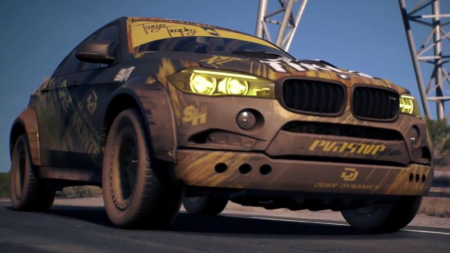 need for speed payback rasante offroad rennen im trailer gamepro. Black Bedroom Furniture Sets. Home Design Ideas